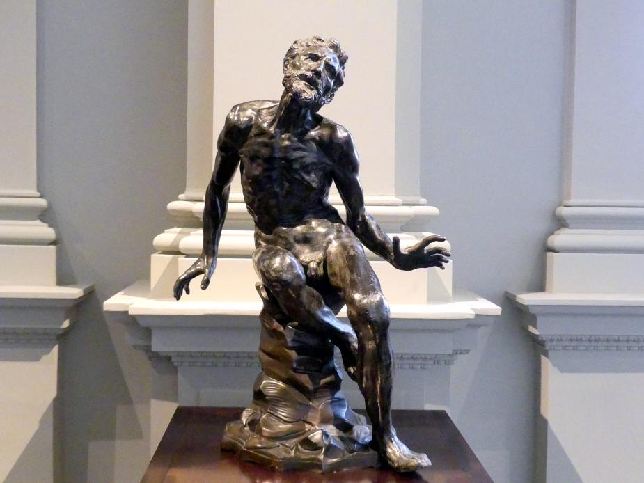 Baccio Bandinelli (Nachahmer): Hl. Hieronymus (?), 2. Hälfte 16. Jhd.