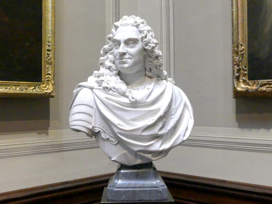 Paul Heermann: Friedrich August I. Kurfürst von Sachsen, als August II. König von Polen, gen. der Starke, vor 1718