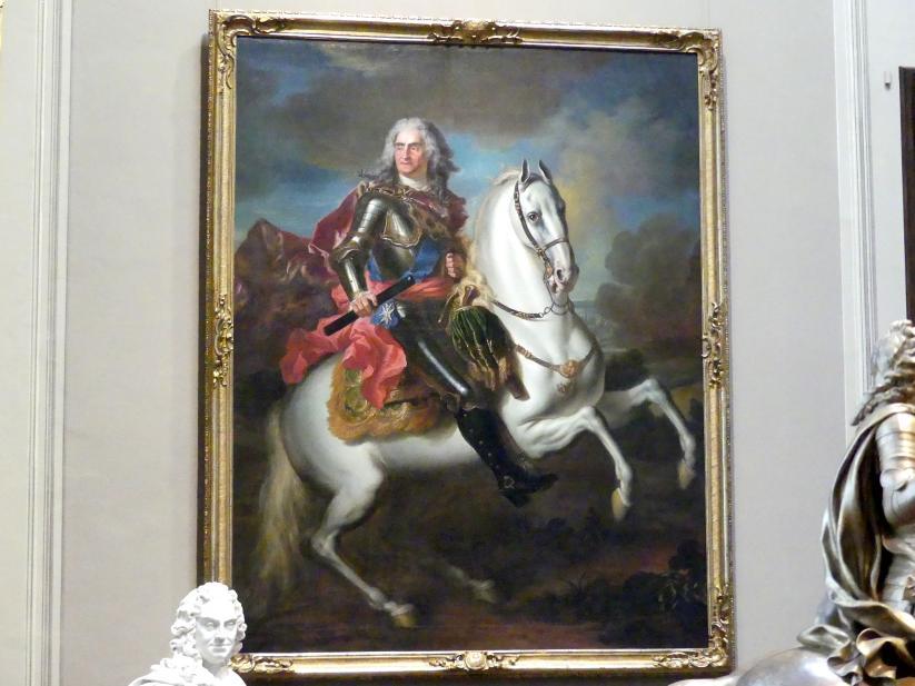 Louis de Silvestre: König August II. von Polen (1670-1733) zu Pferde, Um 1718