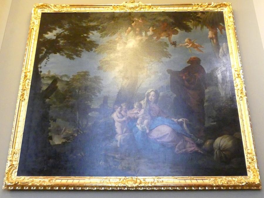 Francesco Trevisani: Die Ruhe auf der Flucht nach Ägypten, um 1714