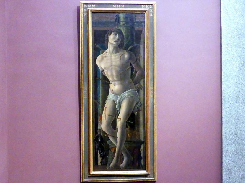 Lorenzo Costa: Der heilige Sebastian, um 1480 - 1485