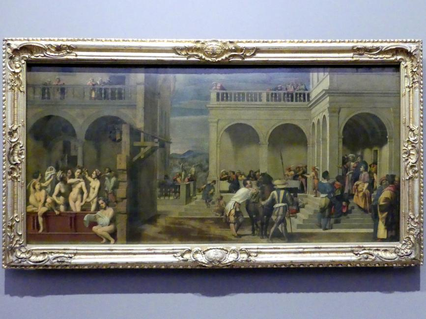 Francesco di Cristofano (Franciabigio): Der Uriasbrief, 1523