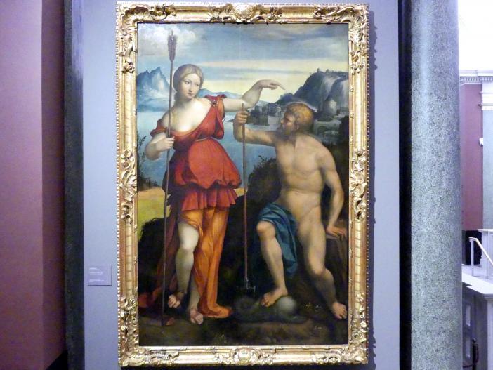 Benvenuto Tisi Garofalo: Poseidon und Athene, 1512