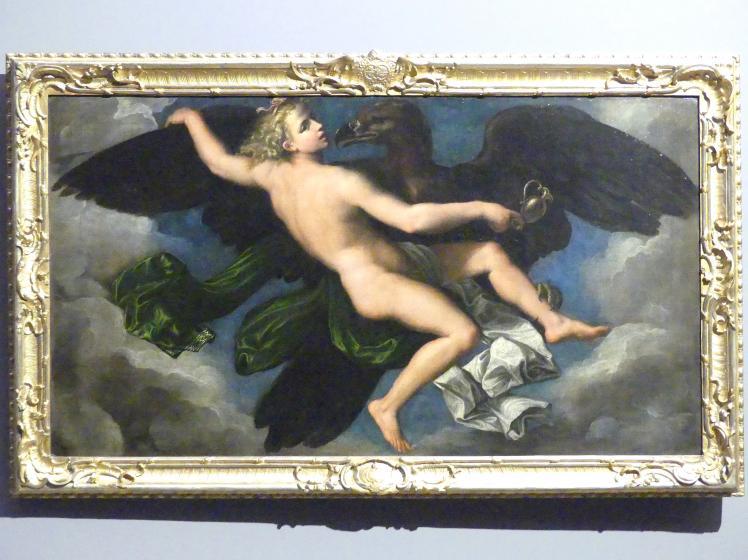 Girolamo da Carpi: Der Raub des Ganymed, Undatiert