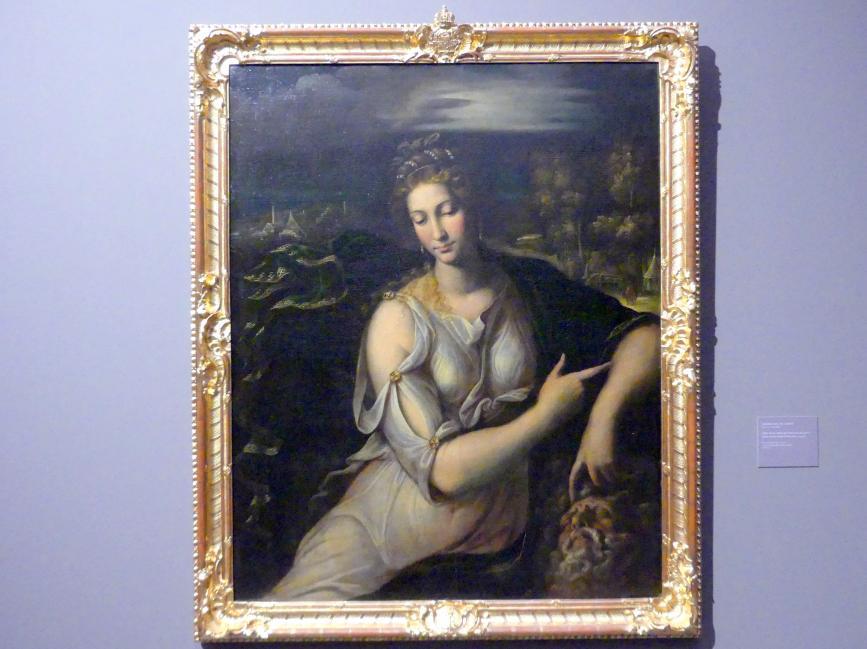 Girolamo da Carpi: Judith mit dem Haupt des Holofernes, Um 1540 - 1550