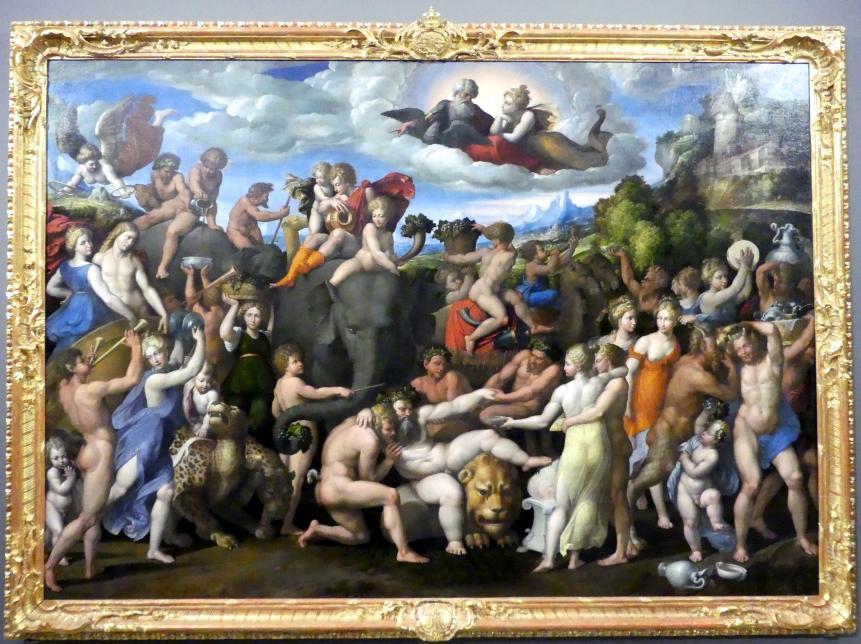 Benvenuto Tisi Garofalo: Der Triumph des Bacchus, 1540