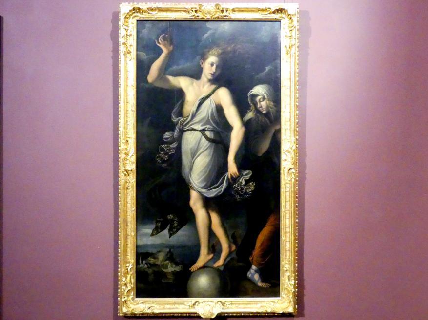Girolamo da Carpi: Die Gelegenheit und die Reue, 1541