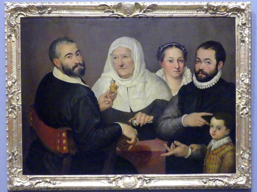 Bartolomeo Passarotti: Familienbildnis, Undatiert
