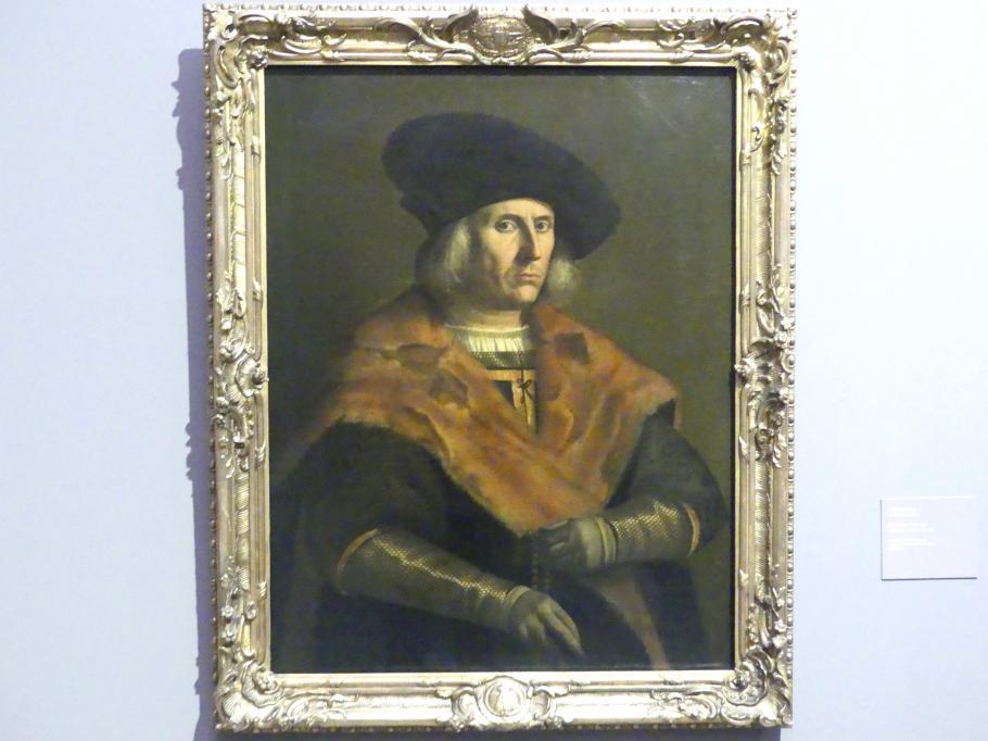 Paolo Morando (Cavazzola): Bildnis eines Herrn, 1518