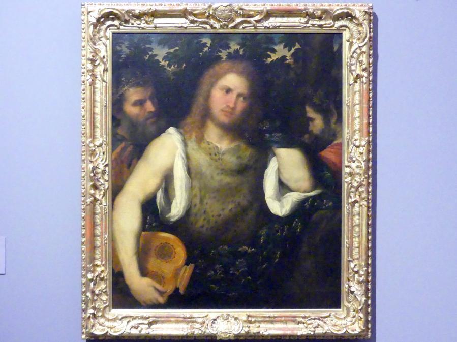 Paris Bordone: Apollo zwischen Marsyas und Midas, Um 1545 - 1550