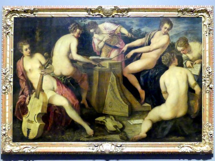 Jacopo Robusti (Tintoretto): Musizierende Frauen, Nach 1566