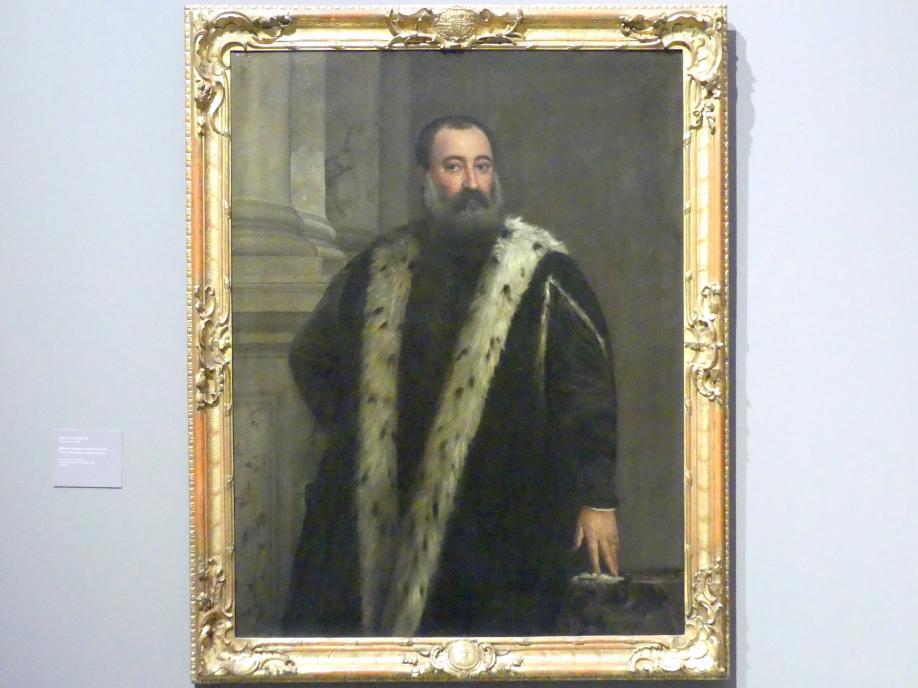 Paolo Caliari (Veronese): Bildnis des Alessandro Contarini, um 1565 - 1570