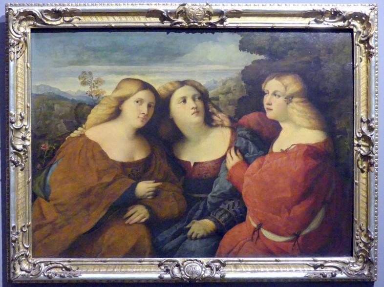 Jacopo Palma il Vecchio (Jacomo Nigretti de Lavalle): Die drei Schwestern, Um 1518 - 1520