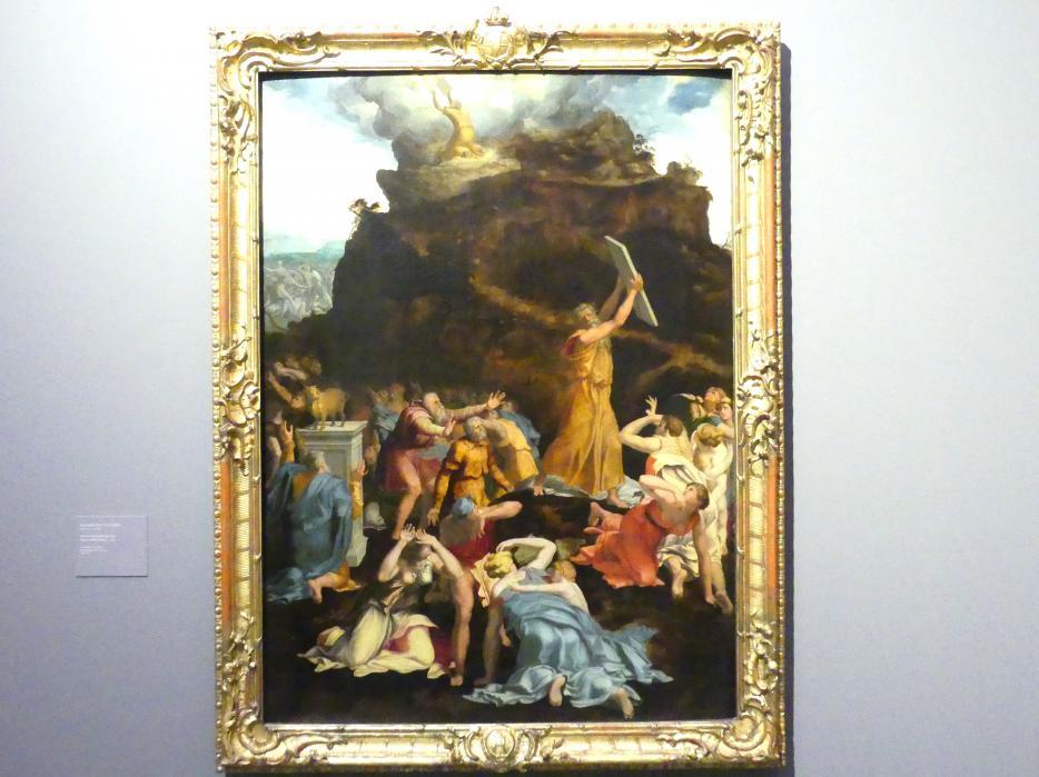 Daniele da Volterra: Moses am Berg Sinai, um 1540