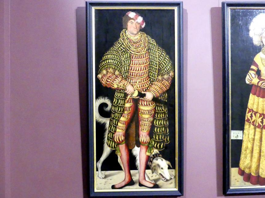 Lucas Cranach der Ältere: Herzog Heinrich der Fromme (1473-1541), 1514