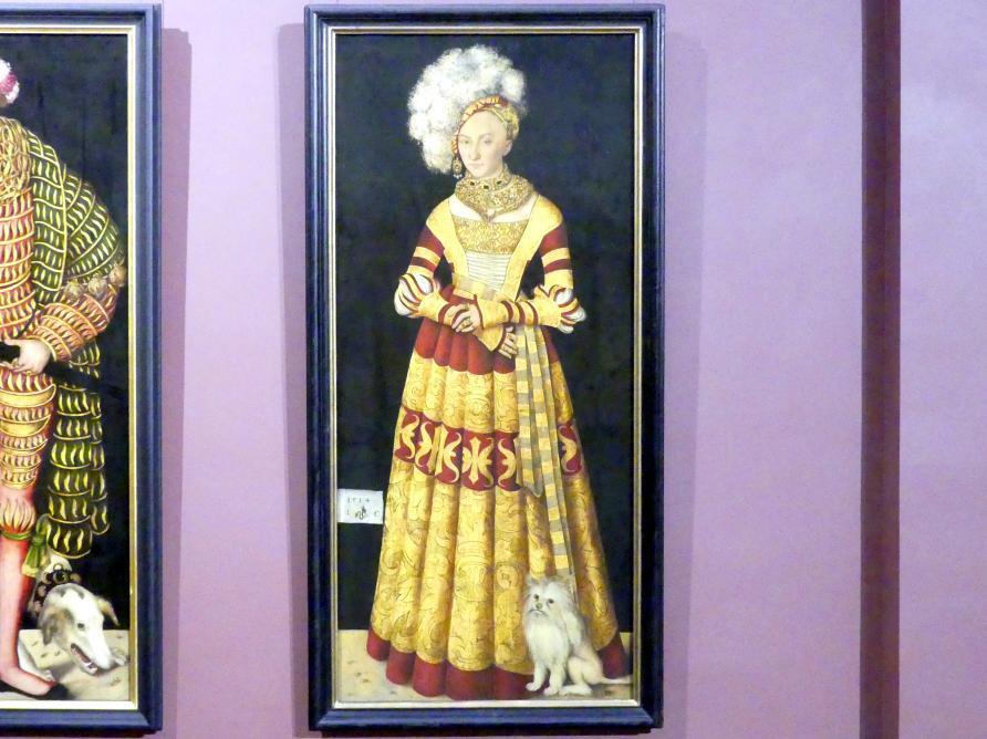 Lucas Cranach der Ältere: Herzogin Katharina von Mecklenburg (1487-1561), 1514