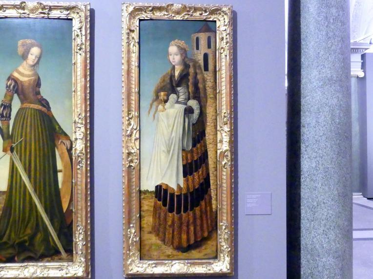 Lucas Cranach der Ältere: Heilige Barbara, um 1516