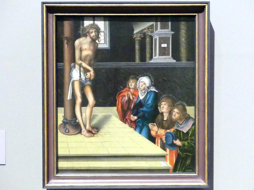 Lucas Cranach der Ältere: Christus als Schmerzensmann an der Geißelsäule, 1515