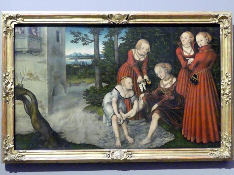 Lucas Cranach der Jüngere: David und Bathseba, um 1537