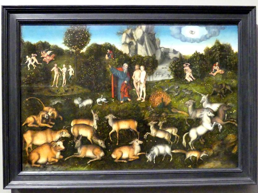 Lucas Cranach der Ältere: Paradies, 1530