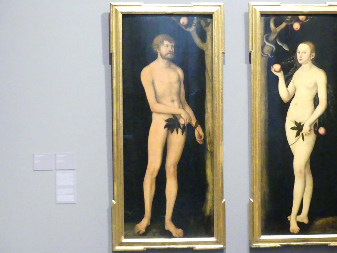 Lucas Cranach der Ältere: Adam, 1531