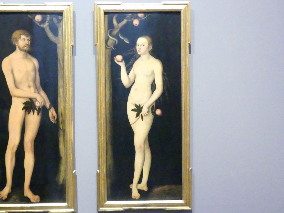 Lucas Cranach der Ältere: Eva, 1531