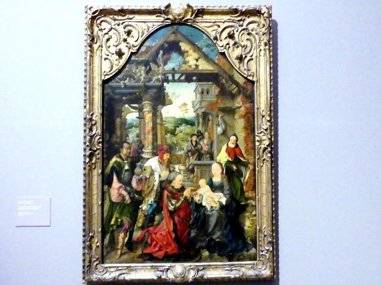 Joos van Cleve (Joos van der Beke): Die kleine Anbetung der Könige, 1517 - 1518