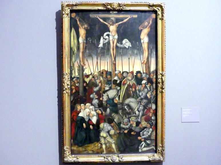 Lucas Cranach der Jüngere: Kreuzigung Christi, 1546