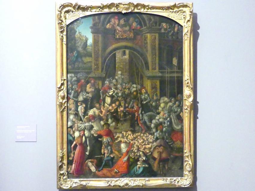 Lucas Cranach der Ältere: Bethlehemitischer Kindermord, Um 1515