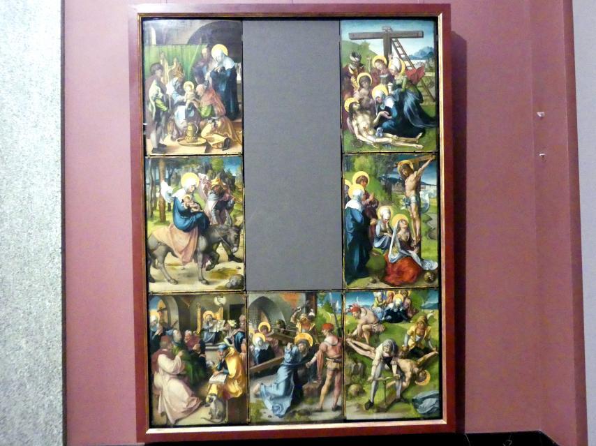 Albrecht Dürer: Die Sieben Schmerzen der Maria, 1495 - 1496