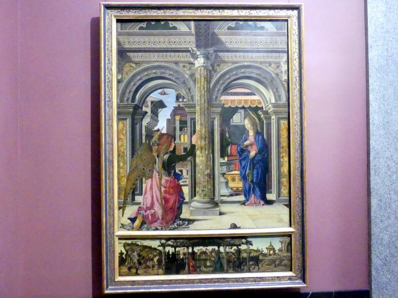 Francesco del Cossa: Die Verkündigung, 1470 - 1472