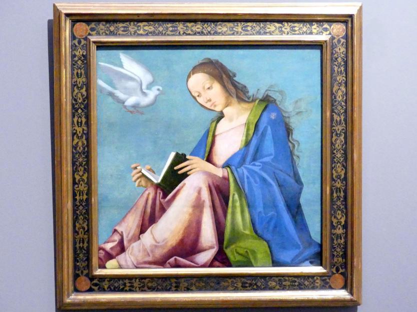 Maria bei der Verkündigung, um 1500