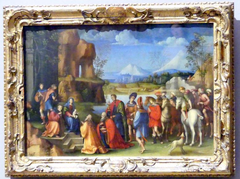 Francesco Francia (Raibolini): Die Anbetung der Könige, Um 1505 - 1506