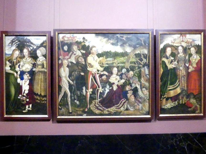 Lucas Cranach der Ältere: Katharinenaltar, 1506