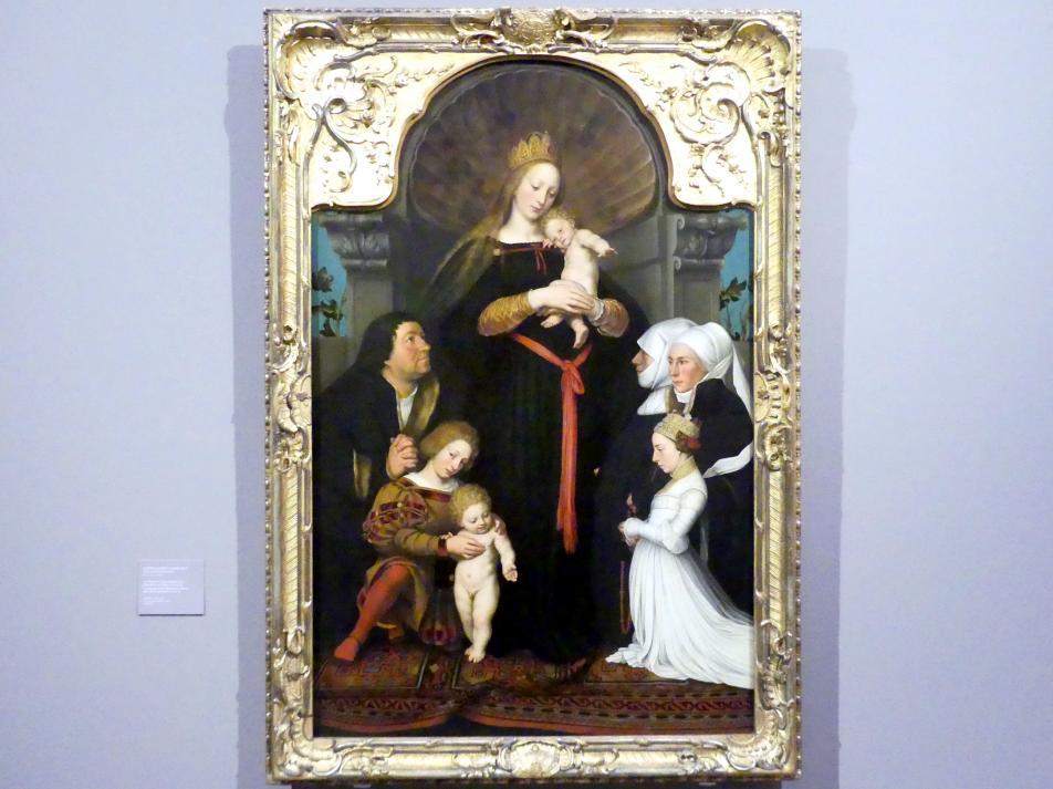 Bartholomäus Sarburgh: Die Madonna des Basler Bürgermeisters Jakob Meyer zum Hasen, um 1635 - 1637