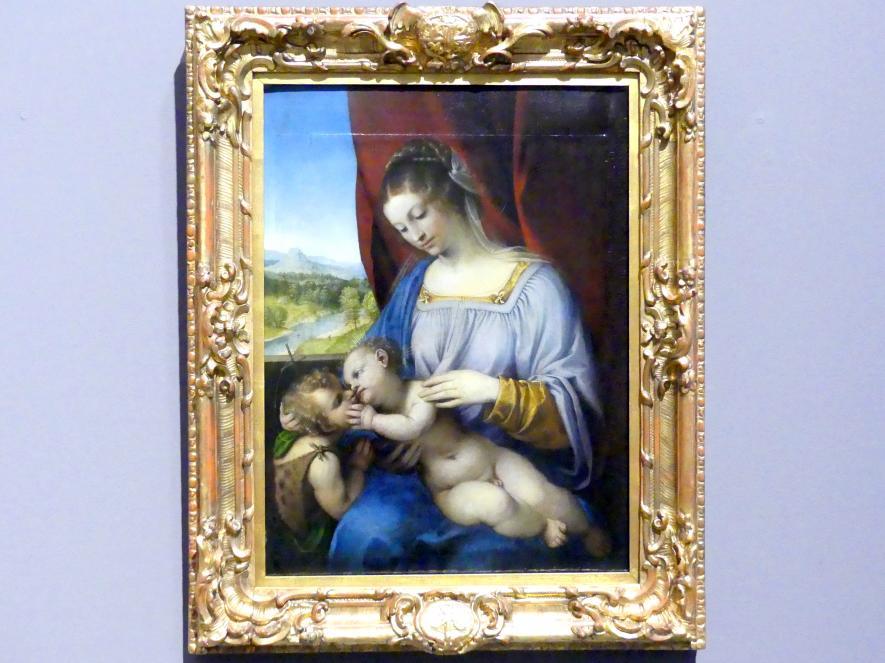 Lorenzo Lotto: Maria mit dem Kind und dem kleinen Johannes, 1518