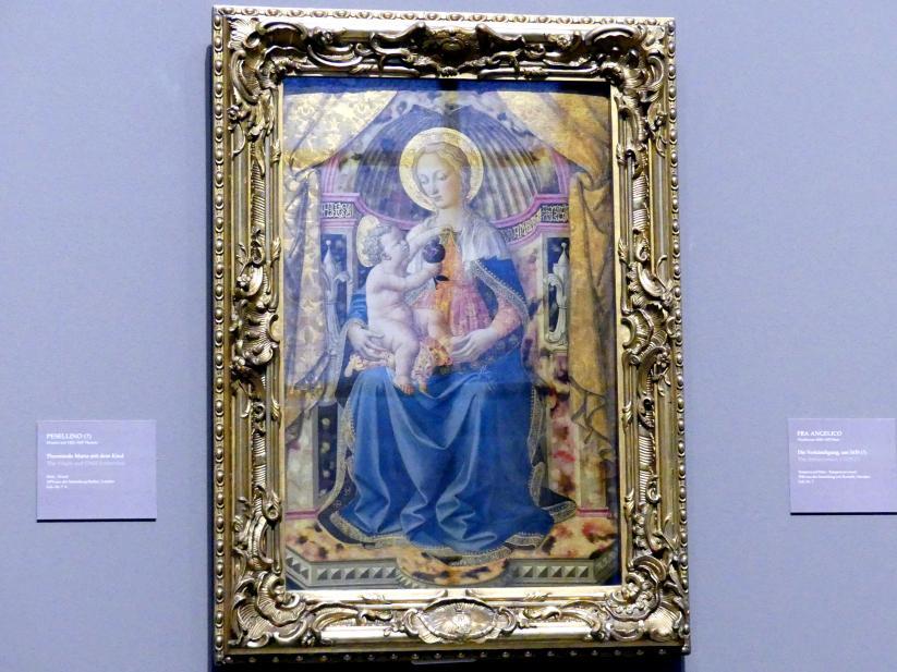 Francesco Pesellino: Thronende Maria mit dem Kind, Undatiert