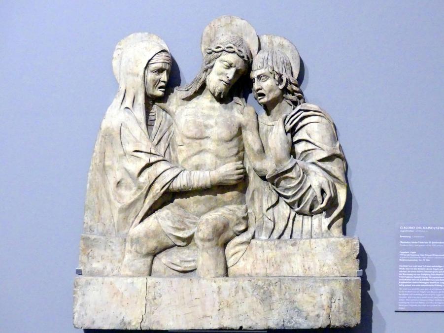 Giacomo Del Maino: Beweinung, Letztes Viertel 15. Jhd.