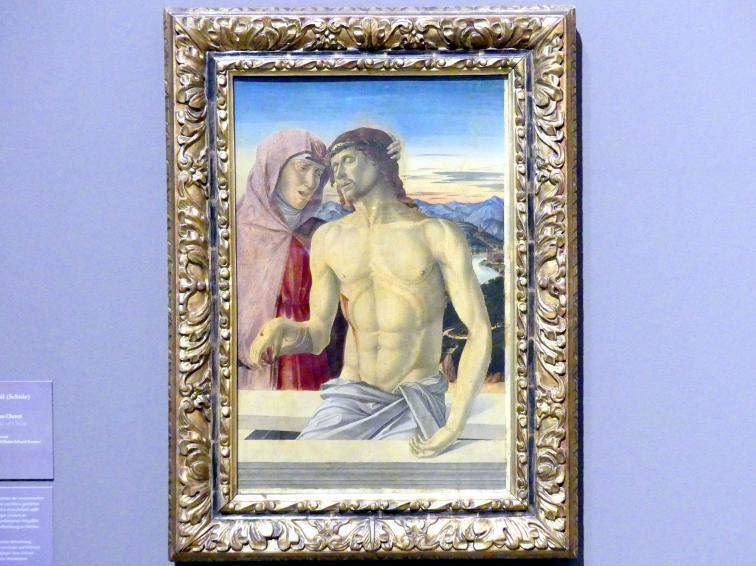 Giovanni Bellini (Schule): Maria mit dem Leichnam Christi, Undatiert
