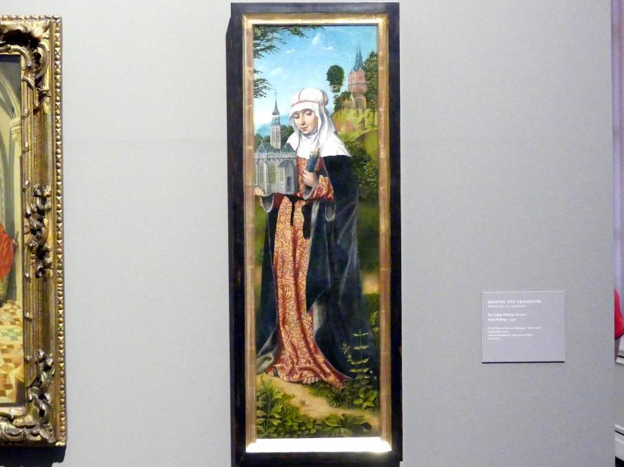 Meister von Frankfurt: Die heilige Hedwig, um 1500