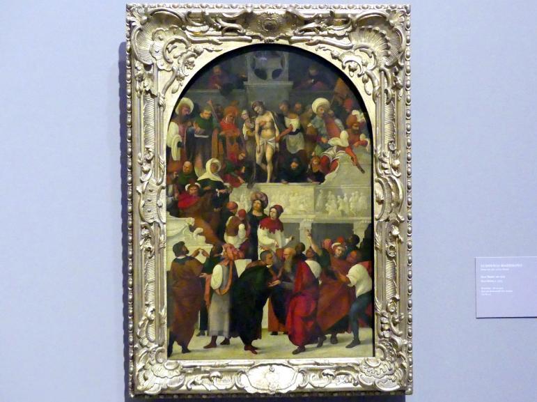 Ludovico Mazzolino: Ecce Homo, um 1525