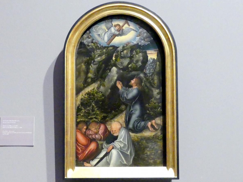 Lucas Cranach der Ältere: Christus am Ölberg, um 1520