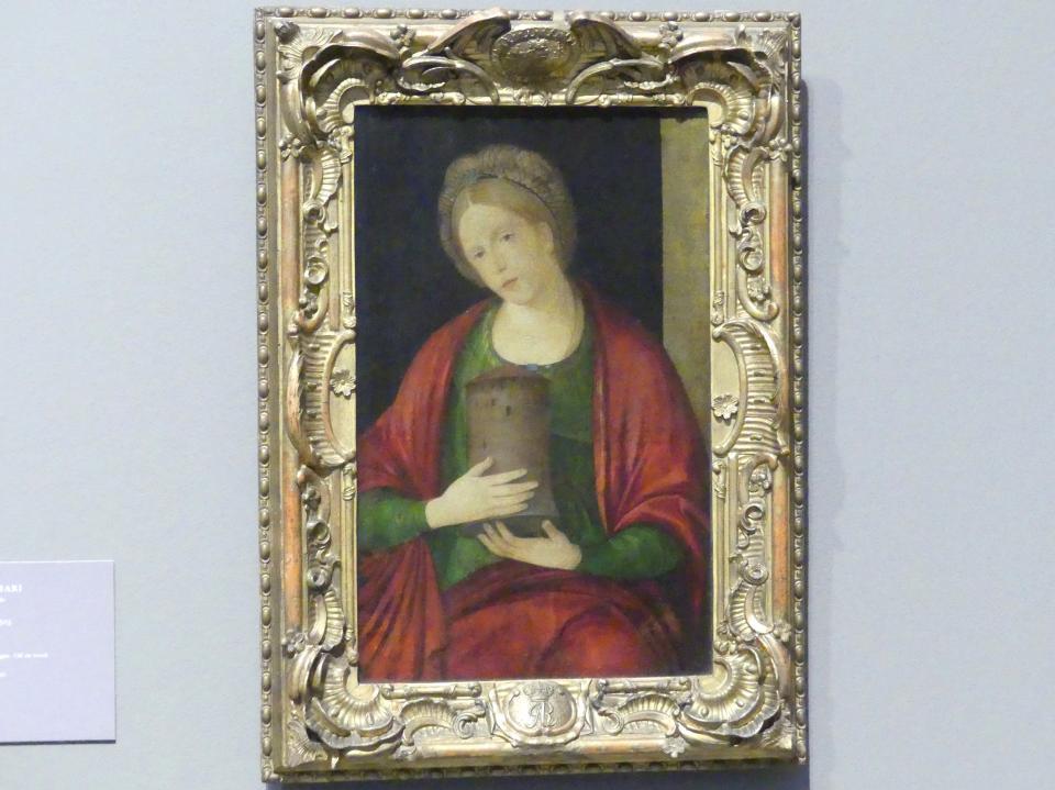 Jacopo de' Barbari: Die heilige Barbara, Um 1503