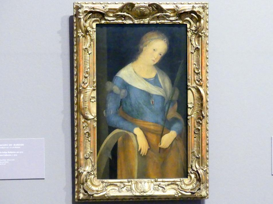 Jacopo de' Barbari: Die heilige Katharina, um 1503