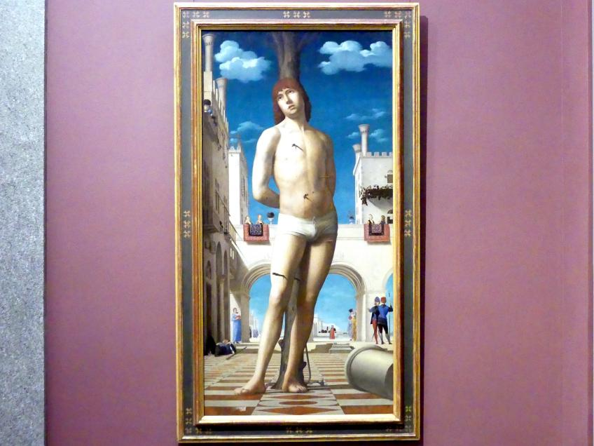 Antonello da Messina: Der heilige Sebastian, um 1478