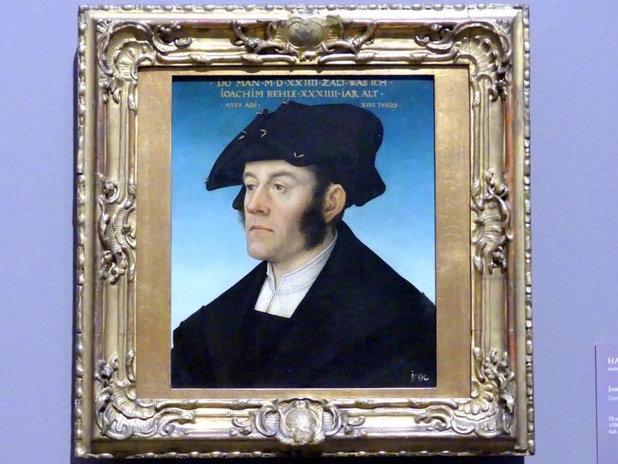 Hans Maler zu Schwaz: Joachim Rehle, 1524