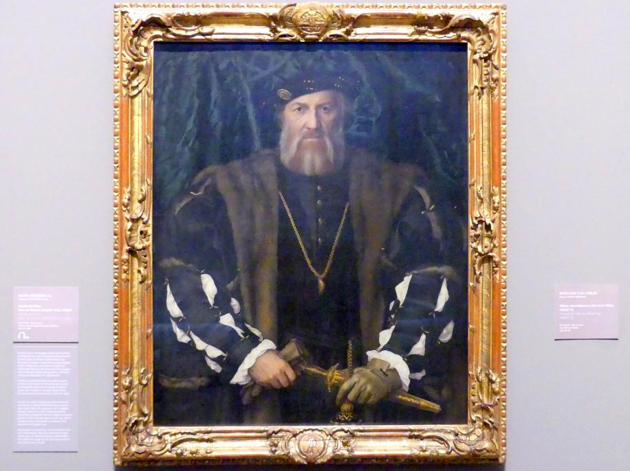 Hans Holbein der Jüngere: Charles de Solier, Sieur de Morette (1480/81-1564), 1534 - 1535