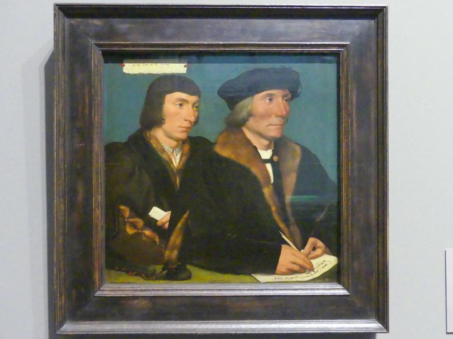 Hans Holbein der Jüngere: Thomas Godsalve (1481-1542) und sein Sohn Sir John (um 1510-1556), 1528