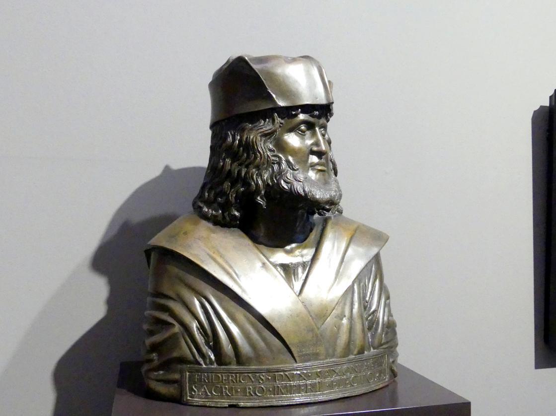 """Adriano Fiorentino: Friedrich III. Kurfürst von Sachsen, genannt """"der Weise"""", 1498, Bild 3/4"""