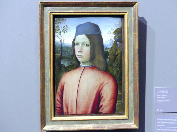 Pinturicchio (Pintoricchio): Bildnis eines Knaben, Undatiert